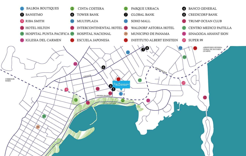 the-panarama-ubicación-apartamentos-avenida-balboa